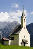 Church in the Alpes Stock Photography