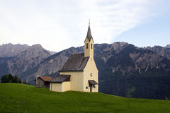 Church in the Alpes Royalty Free Stock Photos