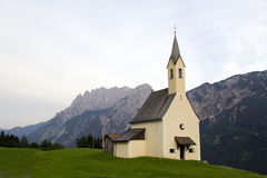 Church in the Alpes Royalty Free Stock Photography