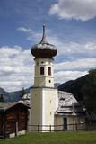 Church in a alpine village Royalty Free Stock Photo