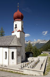 Church in the Alps Stock Photos