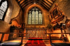 Church altar Royalty Free Stock Photos
