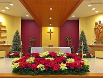 Free Church Altar Stock Images - 48455074