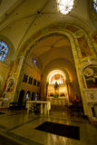 Church Altar, Christian Religion, Worship God Stock Photo