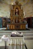 Church altar Stock Image