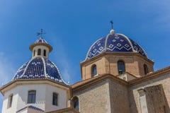 Church of Altea Stock Image