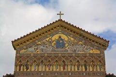 Church of Amalfi Stock Image