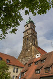Church in Amberg Royalty Free Stock Photography