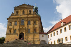 Church in Amberg Stock Photo