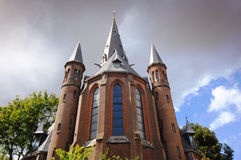 Church in Amsterdam Royalty Free Stock Photos