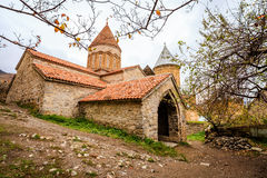 Church in Ananuri Fortress Royalty Free Stock Images