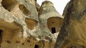 Church at an Ancient Cave House in Pasabagi, Cappadocia stock image