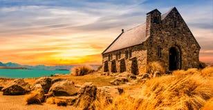 Church, Ancient, Landscape Stock Photos
