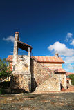 Church in ancient town Altos de Chavon Royalty Free Stock Photo