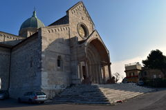 Church in Ancona marche italy Royalty Free Stock Images
