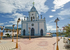 Church in the Andes in Ecuador Royalty Free Stock Image