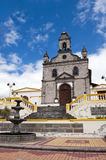 Church in the Andes in Ecuador Royalty Free Stock Photos