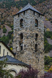 Church in Andorra la Vella Stock Photo