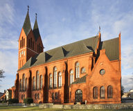 Church of the Andrew Bobola in Swiecie. Poland.  Stock Image