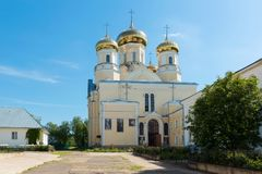 Church of the Andronikov Icon of the Mother of God, royalty free stock photography
