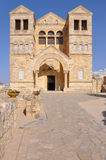 Church of the Angels, Shepherds Field, Betlehem, Palestine. Royalty Free Stock Images