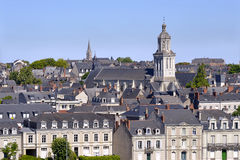 Church of Angers in France Royalty Free Stock Image