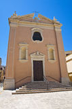 Church of Anime. Brindisi. Puglia. Italy. Royalty Free Stock Photo