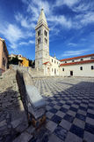 The church of the Annunciation of the Blessed Virgin Mary in Mal Royalty Free Stock Photos