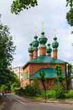 Church of Annunciation of Blessed Virgin Mary, Yaroslavl, Russia Stock Photos
