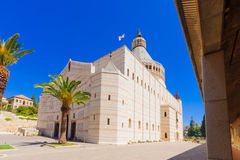 The Church of Annunciation stock images