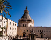 The Church of the Annunciation in Nazareth Royalty Free Stock Photography