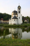 The church of the Annunciation in Pribic Crkveni. Pribic Crkveni is a settlement in Krasic municipality in the central Croatia. The church was built in 1911 stock photo