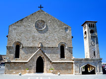 Church of the Annunciation, Rhodes. Stock Photography