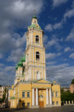 Church of the Annunciation in St. Petersburg, Russia Stock Photography