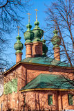 Church of the Annunciation was built in 17th century in Yaroslavl, Russia Royalty Free Stock Images