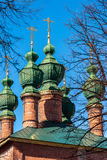 Church of the Annunciation was built in 17th century in Yaroslavl, Russia Royalty Free Stock Photo