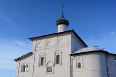 Church of the Annunciation in winter Royalty Free Stock Photos