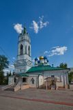 Church of the Annunciation (XVII c.). Tula city, Russia. Church of the Annunciation (circa XVII c.). The oldest building of Tula city, Russia Royalty Free Stock Images