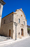 Church of Annunziata. Pietramontecorvino. Puglia. Stock Images