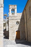 Church of Annunziata. Pietramontecorvino. Puglia. Italy. Royalty Free Stock Photo