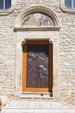 Church of Annunziata. Pietramontecorvino. Puglia. Italy. Royalty Free Stock Image