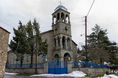 The church in Antartiko village, Florina, Greece Stock Photo