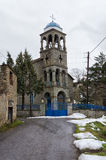 The church in Antartiko village, Florina, Greece Royalty Free Stock Photo