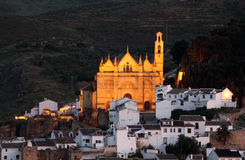 Church in Antequera, Spain Stock Images