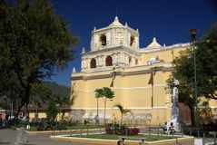 Church in Antigua, Guatemala Stock Image