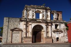 Church in Antigua, Guatemala Stock Images