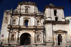 Church in Antigua, Guatemala Stock Photos