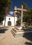 Church in Antigua. Inland Fuerteventura, church in Antigua royalty free stock image