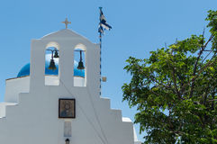 Church on Antiparos. A typical greek church on the islandd of Antiparos, Greece stock photography