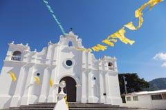 Church in Apaneca, El Salvador. Apaneca, Ahuachapan, El Salvador royalty free stock image